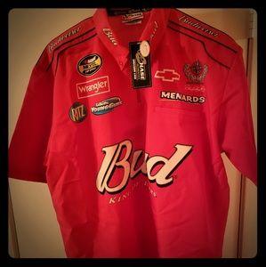 Dale Earnhardt jr. Budweiser #8 shirt